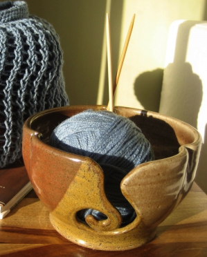 gift presents for women: yarn bowls